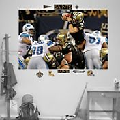 "Fathead Drew Brees ""In Your Face"" Wall Graphic"