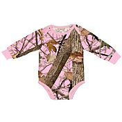 Field & Stream Infant Girls' Camo Long Sleeve Bodysuit