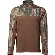 Field & Stream Men's Base Defense Expedition Weight Quarter Zip Pullover