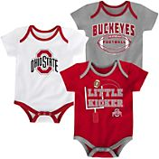 Gen2 Infant Ohio State Buckeyes 3 Points Onesie Set