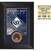 Highland Mint Tampa Bay Rays Dirt Coin Mini Mint