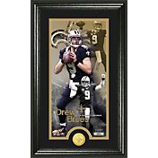 The Highland Mint New Orleans Saints Drew Brees Framed 'Supreme' Bronze Coin Photo Mint