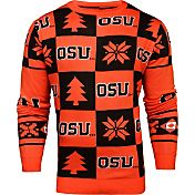 Klew Men's Oregon State Beavers Orange Ugly Sweater