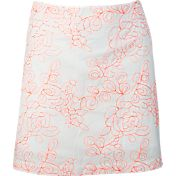 Lady Hagen Islamorada Collection Floral Embroidery Golf Skort