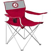 Logo Alabama Crimson Tide Team-Colored Canvas Chair