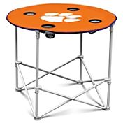 Clemson Tigers Portable Round Table