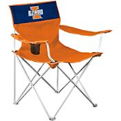 Logo Illinois Fighting Illini Team-Colored Canvas Chair