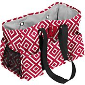 Wisconsin Badgers Double-Diamond Junior Caddy Tote