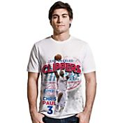 Levelwear Men's Los Angeles Clippers Chris Paul Center Court White T-Shirt