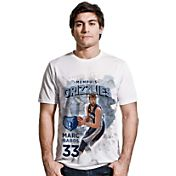 Levelwear Men's Memphis Grizzlies Marc Gasol Center Court White T-Shirt