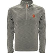 Levelwear Men's Stanford Cardinal Grey Mobility Long Sleeve Quarter-Zip Shirt