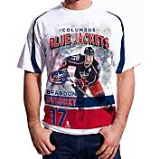 Levelwear Men's Columbus Blue Jackets Brandon Dubinsky #17 Center Ice White T-Shirt