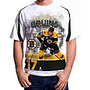 Levelwear Men's Boston Bruins Milan Lucic #17 Center Ice White T-Shirt