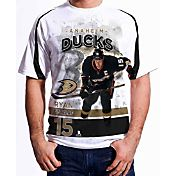 Levelwear Men's Anaheim Ducks Ryan Getzlaf #15 Center Ice White T-Shirt
