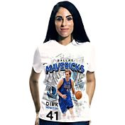 Levelwear Women's Dallas Mavericks Dirk Nowitzki Center Court T-Shirt
