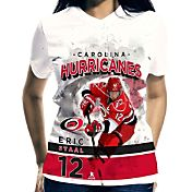 Levelwear Women's Carolina Hurricanes Eric Staal #12 Center Ice White T-Shirt