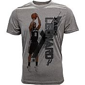 Levelwear Youth San Antonio Spurs Kawhi Leonard Fadeaway Grey T-Shirt