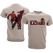 Levelwear Youth Chicago Blackhawks Jonathan Toews #19 Charcoal Spectrum T-Shirt