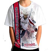 Levelwear Youth Washington Capitals Alex Ovechkin #8 Breakaway White T-Shirt