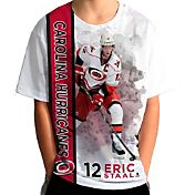 Levelwear Youth Carolina Hurricanes Eric Staal #12 Breakaway White T-Shirt