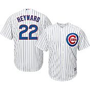 Majestic Men's Replica Chicago Cubs Jason Heyward #22 Cool Base Home White Jersey