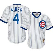 Majestic Men's Replica Chicago Cubs Ralph Kiner Cool Base White Cooperstown Jersey