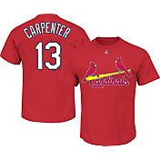Majestic Triple Peak Men's St. Louis Cardinals Matt Carpenter Red T-Shirt