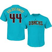 Majestic Men's Arizona Diamondbacks Paul Goldschmidt #44 Blue T-Shirt