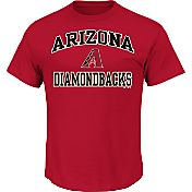 Majestic Men's Arizona Diamondbacks Heart & Soul Red T-Shirt