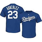 Majestic Men's Los Angeles Dodgers Adrian Gonzalez #23 Royal T-Shirt