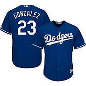 Majestic Men's Replica Los Angeles Dodgers Adrian Gonzalez #23 Cool Base Alternate Royal Jersey