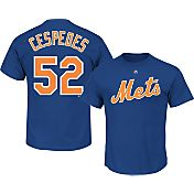 Majestic Men's New York Mets Yoenis Cespedes #52 Royal T-Shirt