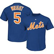 Majestic Men's New York Mets David Wright #5 Royal T-Shirt