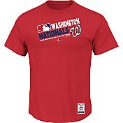 Majestic Men's Washington Nationals Cool Base Red Performance T-Shirt