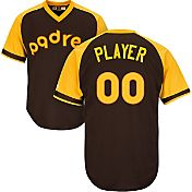 Majestic Men's Full Roster Cool Base Cooperstown Replica San Diego Padres 1978 Brown Jersey
