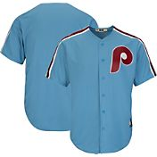 Majestic Men's Replica Philadelphia Phillies Cool Base Light Blue Cooperstown Jersey