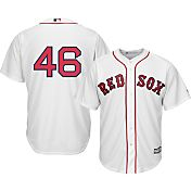Majestic Men's Replica Boston Red Sox Craig Kimbrel #46 Cool Base Home White Jersey