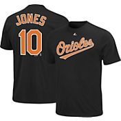 Majestic Triple Peak Men's Baltimore Orioles Adam Jones Black T-Shirt