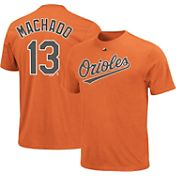 Majestic Triple Peak Men's Baltimore Orioles Manny Machado Orange T-Shirt