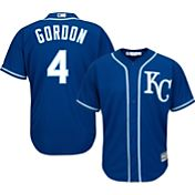Majestic Men's Replica Kansas City Royals Alex Gordon #4 Cool Base Alternate Royal Jersey