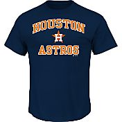 Majestic Men's Houston Astros Heart & Soul Navy T-Shirt