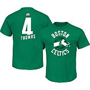 Majestic Men's Boston Celtics Isaiah Thomas #4 Kelly Green T-Shirt