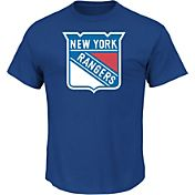 Majestic Men's New York Rangers Tek Patch T-Shirt