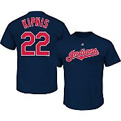 Majestic Toddler Cleveland Indians Jason Kipnis #22 Navy T-Shirt