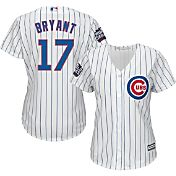 Majestic Women's 2016 World Series Replica Chicago Cubs Kris Bryant #17 Cool Base Home White Jersey