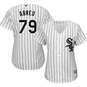 Majestic Women's Replica Chicago White Sox Jose Abreu #79 Cool Base Home White Jersey