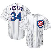 Majestic Youth Replica Chicago Cubs Jon Lester #34 Cool Base Home White Jersey