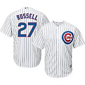 Majestic Youth Replica Chicago Cubs Addison Russell #27 Cool Base Home White Jersey