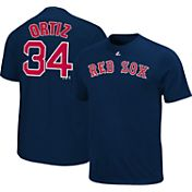 Majestic Youth Boston Red Sox David Ortiz #34 Navy T-Shirt