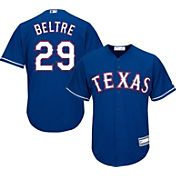 Majestic Youth Replica Texas Rangers Adrian Beltre #29 Cool Base Alternate Royal Jersey